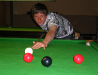 James Topliff former coaching school champion and 2010 best billiard newcomer in the Worthing League.