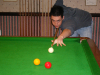 Former coaching club member Zak Richardson (Mid Sussex Billiards runner up)