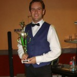 Richard Sandell who in 2009 became the first player in 100 years to win both the New South Wales minor and major billiard championship titles in the same year.